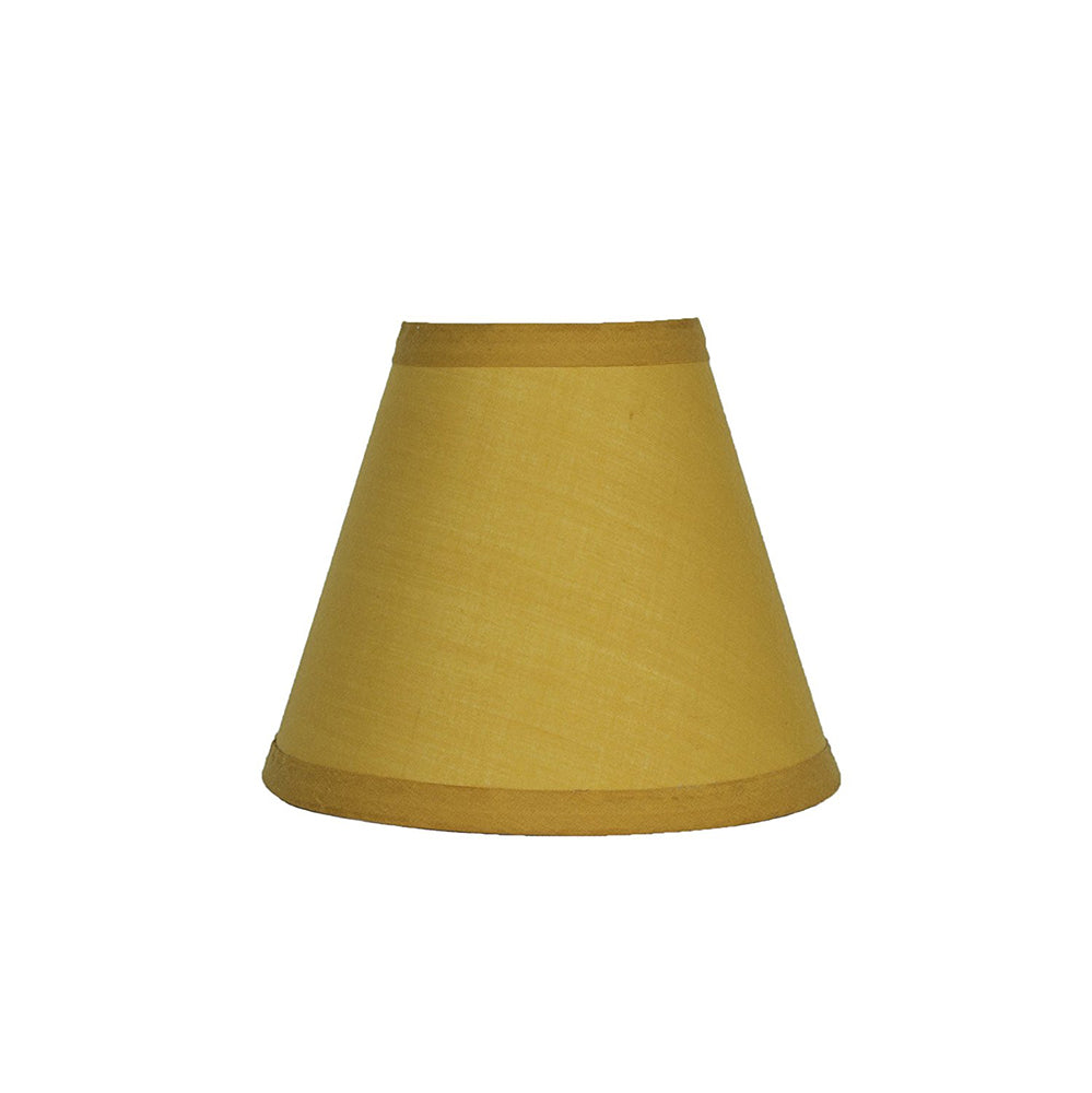 Cotton 6-Inch Chandelier Lamp Shade - 11 Colors