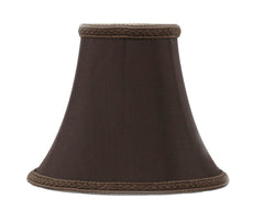 Silk Bell 6-inch Chandelier Lamp Shade - 20 Colors