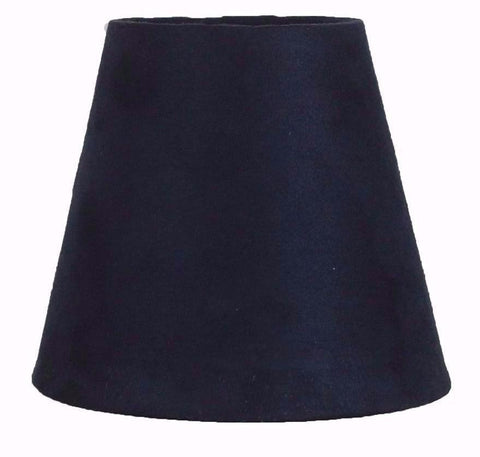 Suede 5-inch Chandelier Lamp Shade - 5 Colors