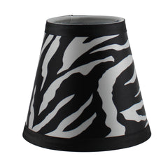 Animal Print 5-inch Hardback Chandelier Lamp Shade - 3 Prints
