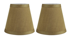 Silk 5-inch Chandelier Lamp Shade - 8 Colors
