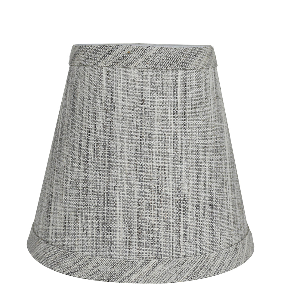 Urbanest storm linen chandelier lamp shade 3x5x45 clip on linen 5 inch chandelier lamp shade 7 colors arubaitofo Choice Image