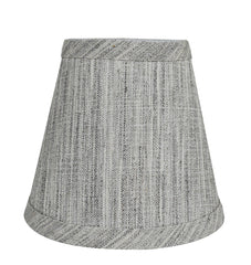 Linen 5-inch Chandelier Lamp Shade - 7 Colors