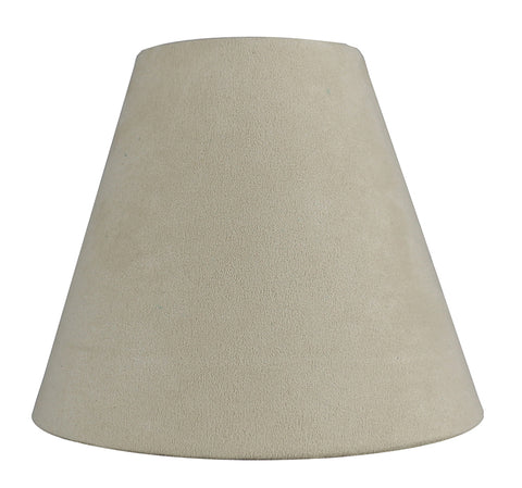 Suede 6-inch Chandelier Lamp Shade - 9 Colors