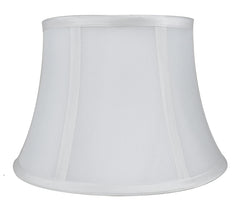 Faux Silk 10-inch Bell Lamp Shade - 5 Colors