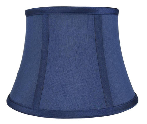 Faux silk 10 inch bell lamp shade 5 colors