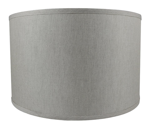 Lamp shades urbanest classic drum smooth linen lampshade 6 colors mozeypictures Image collections