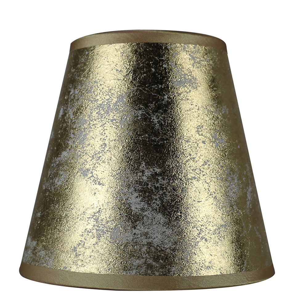 Foiled Paper 5-inch Chandelier Lamp Shade - 3 Colors