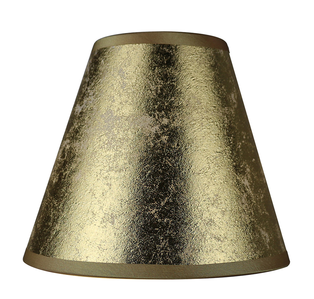 Foiled Paper 6-inch Chandelier Lamp Shade - 3 Colors