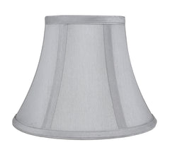 Faux Silk Softback Bell Lamp Shade, 5-inch by 9-inch by 7-inch