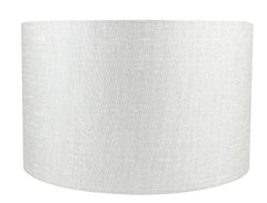 Classic Drum Metallic Fabric Lampshade - 4 Colors