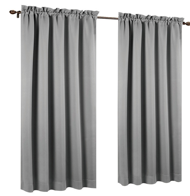 Set of 2 Blackout Curtain Panels - 7 colors