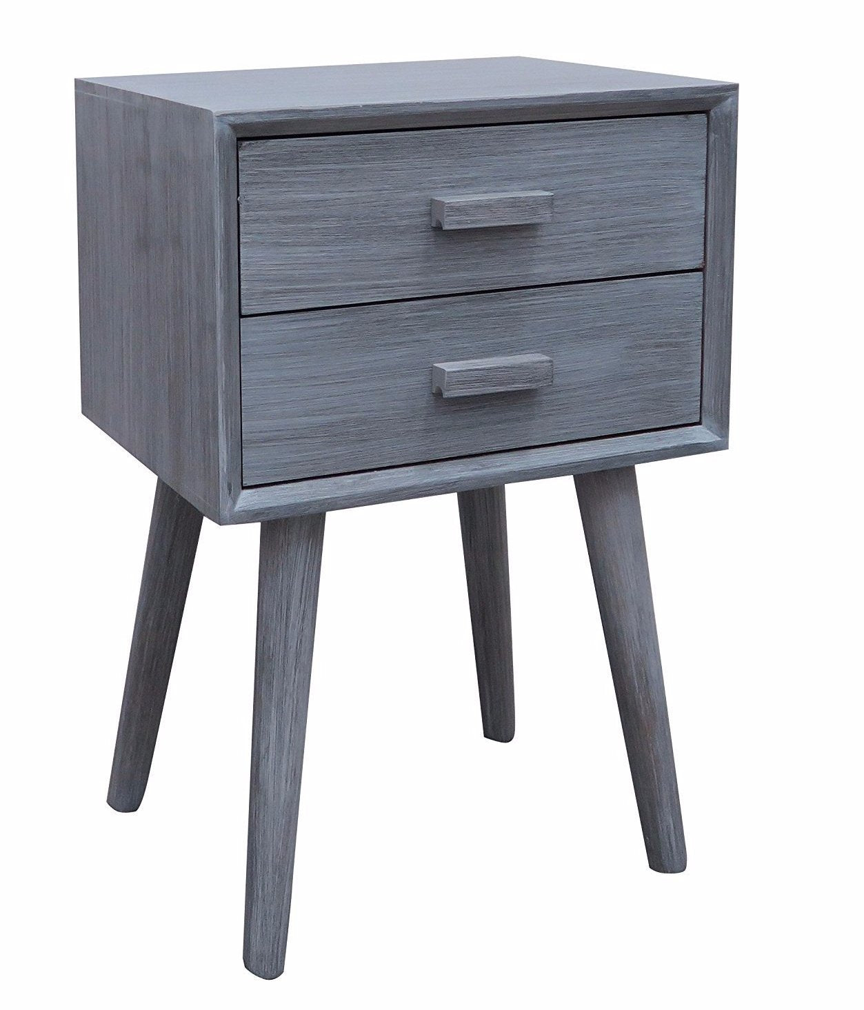 Hartford Two Drawer Side Table   4 Finishes