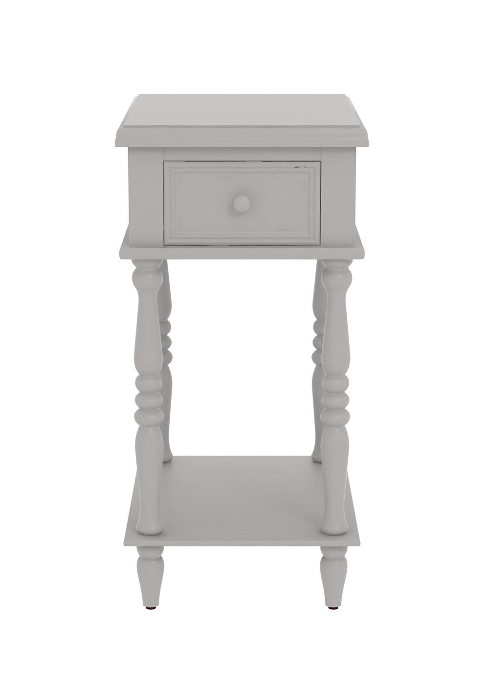 End table with drawer - Adams Accent End Table With Drawer 27 Inch Tall