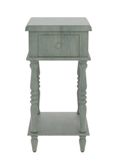Adams Accent End Table with Drawer - 6 Finishes