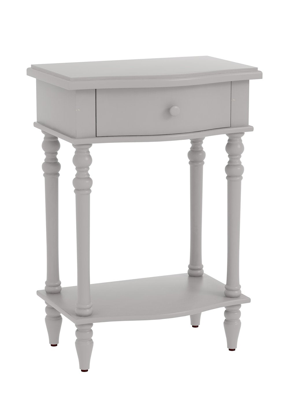 Jefferson Accent End Table with Drawer, 29-inch Tall