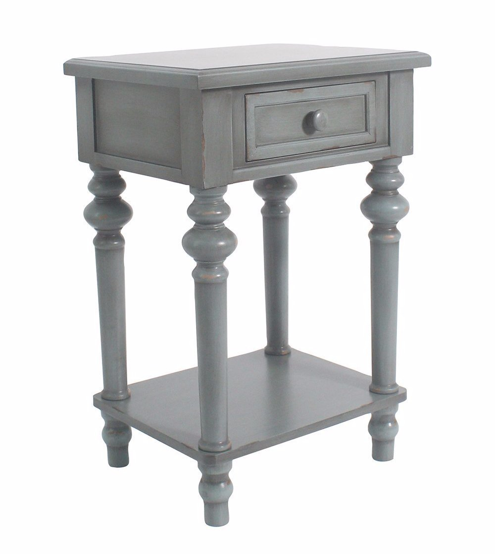 brooks accent end table  inch tall – urbanest - brooks accent end table  inch tall