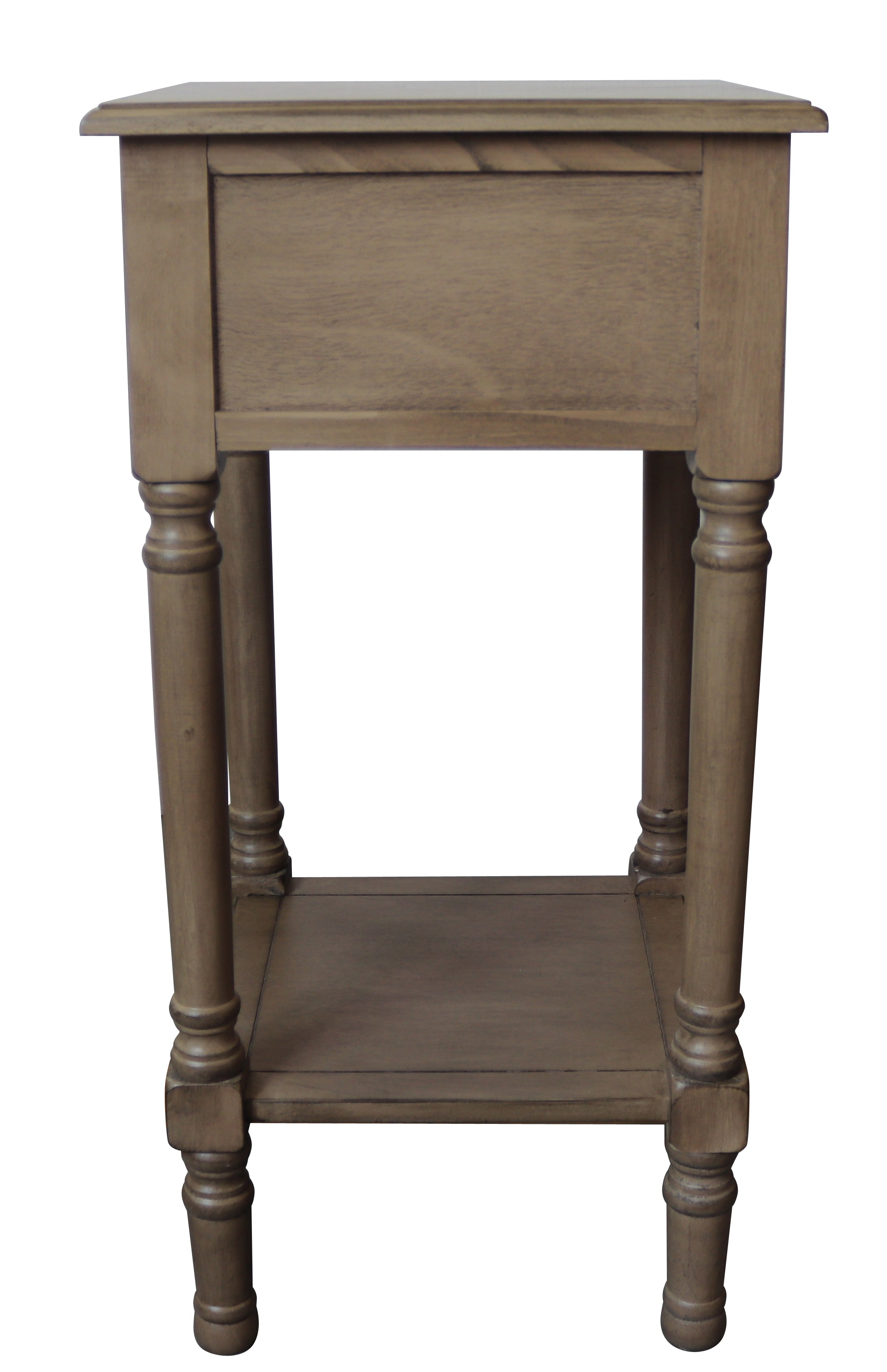 Brookdale End Table With Drawer 28 1 4 Inch Tall 14 1 4