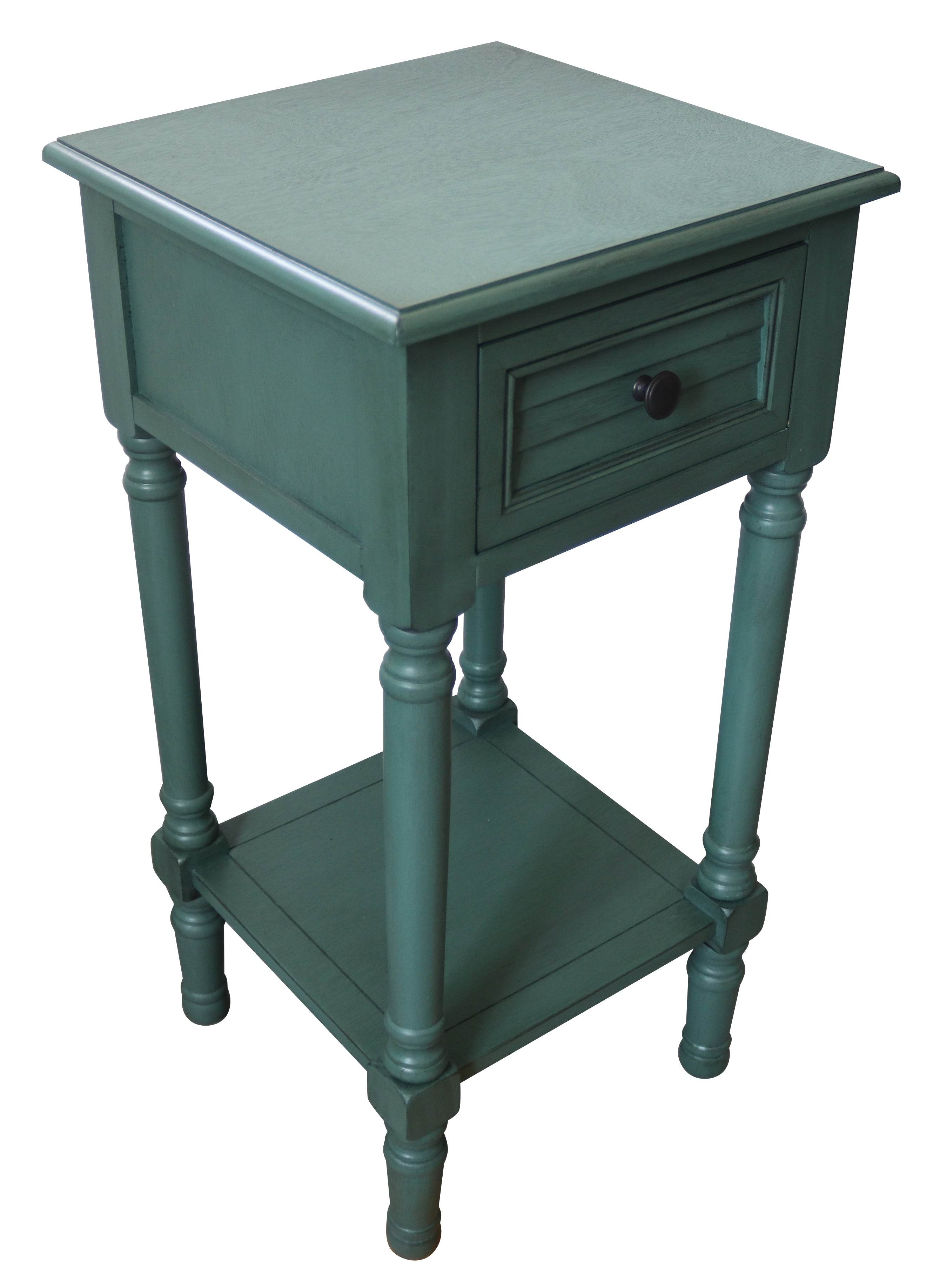 Brookdale End Table With Drawer 28 1 4 Inch Tall 14 1 4 Inch