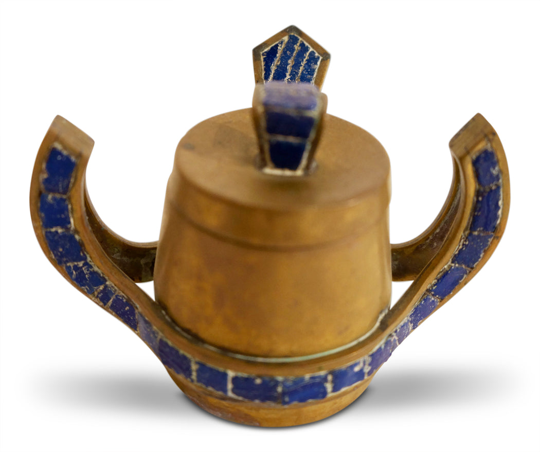 Salvador Teran Brass Tea Set