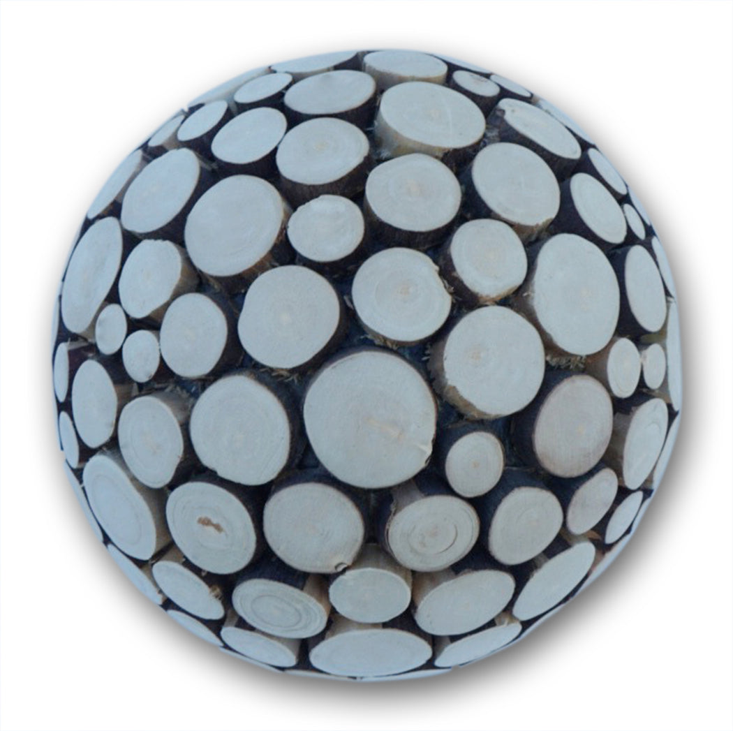 Round Carved Wooden ball