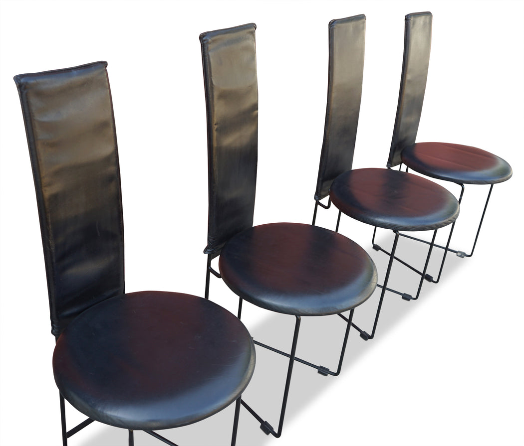 Set of 4 Memphis Style Chairs