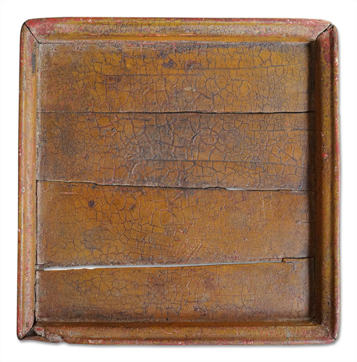 Antique Wood Plank Tray