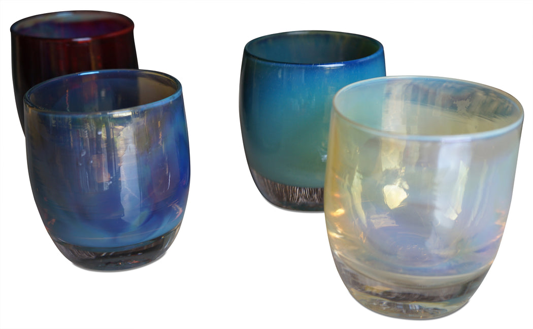 Set of 4 Glassybaby Glasses