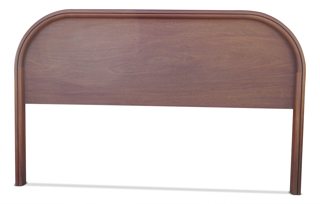 MCM Walnut Headboard (King)