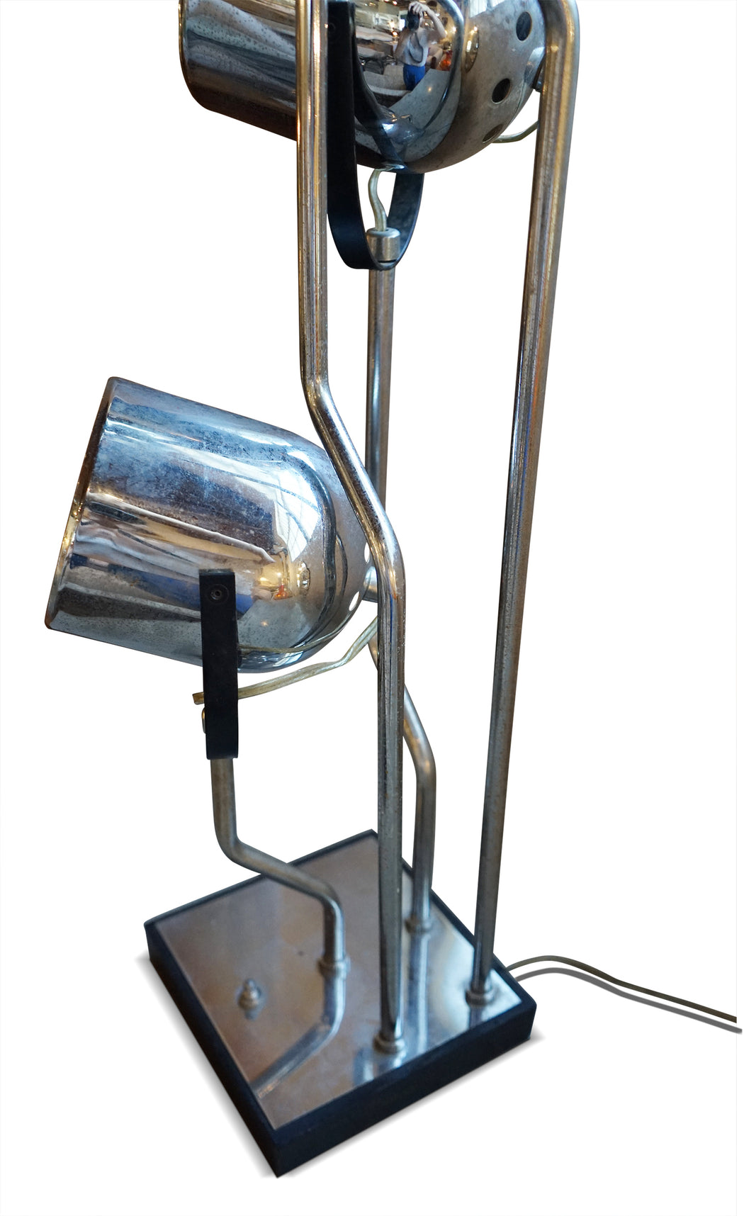 Four Arm Chrome Lamp