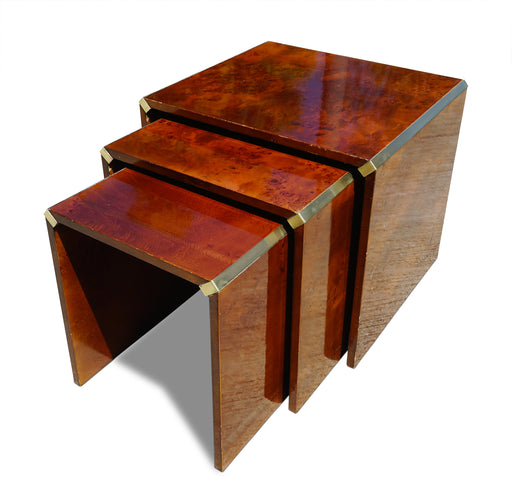 Set of Burl Nesting Tables