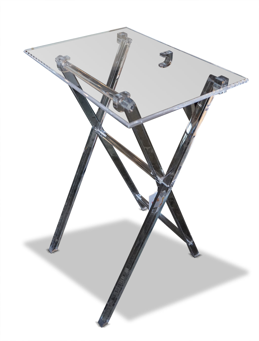 Acrylic Collapsible Tray Table