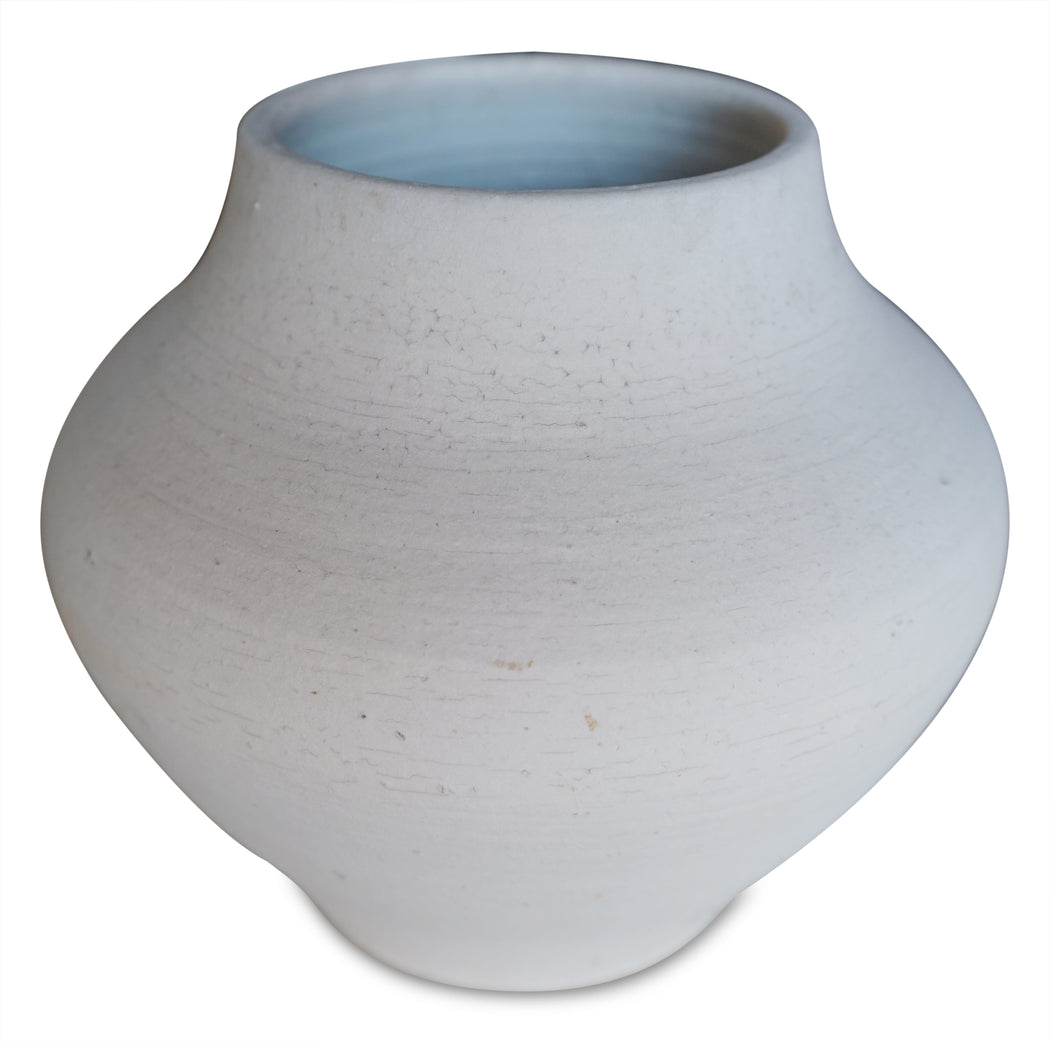 Unglazed Ceramic Vase