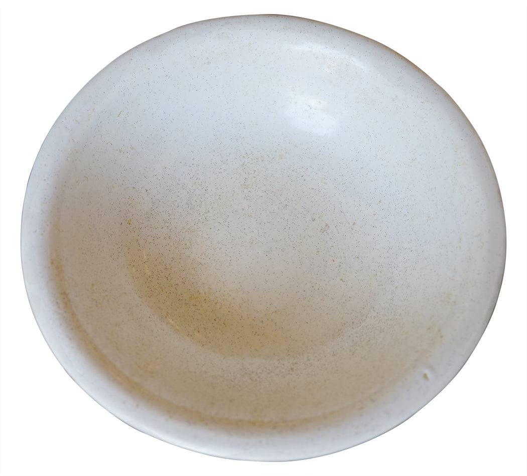 Large Speckled Ceramic Bowl