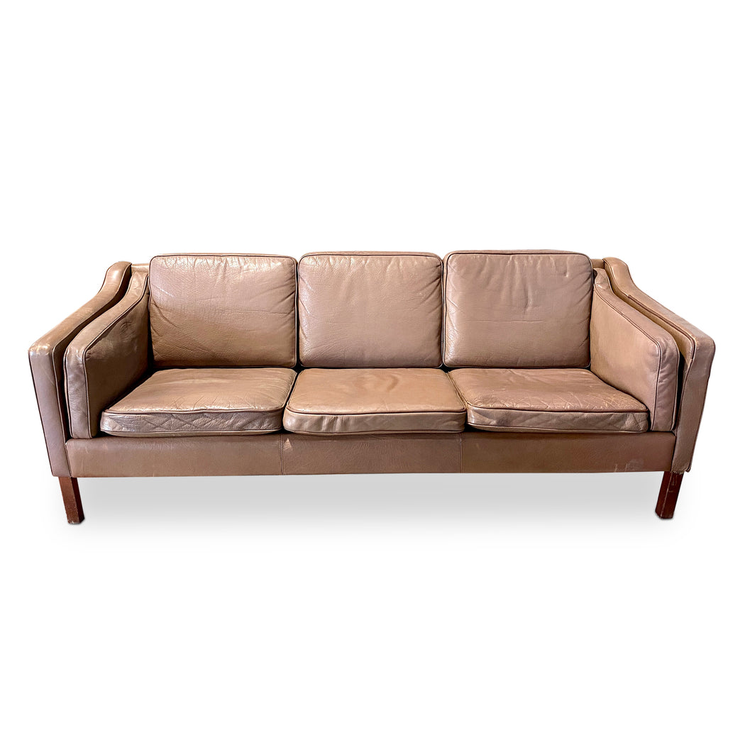 Niels Eilersen Leather Sofa