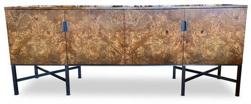 Burled Olivewood Credenza Sideboard by Dunbar