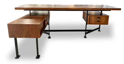 MCM Italian Rosewood Executive Desk