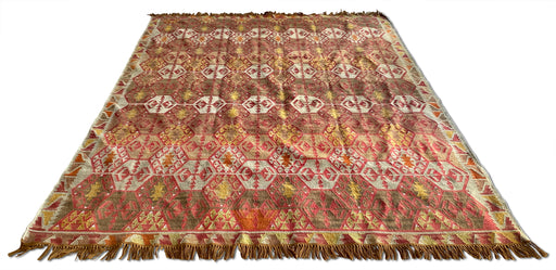 Patterned Flat Weave Rug
