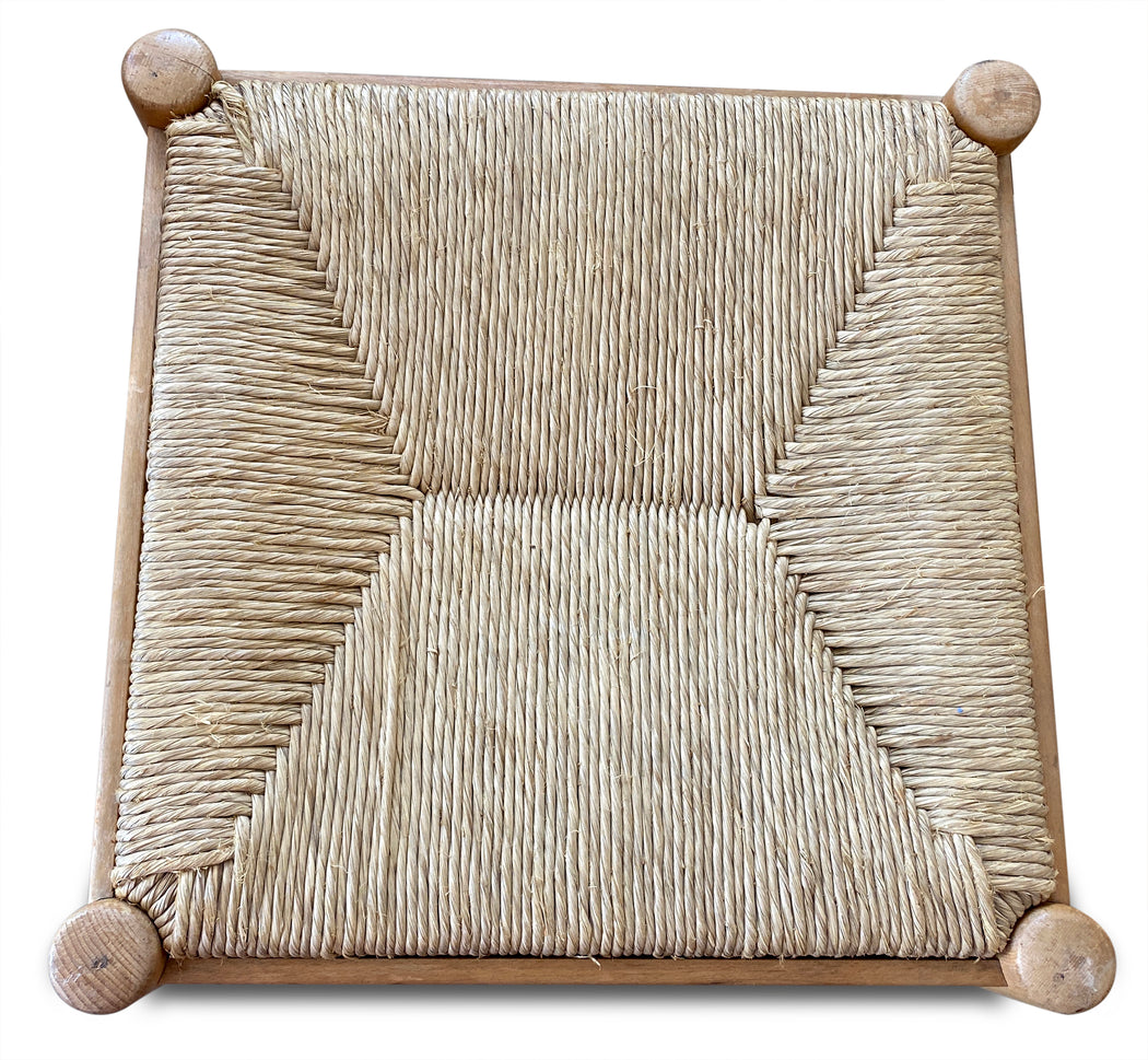 Wicker Stool by Cassina