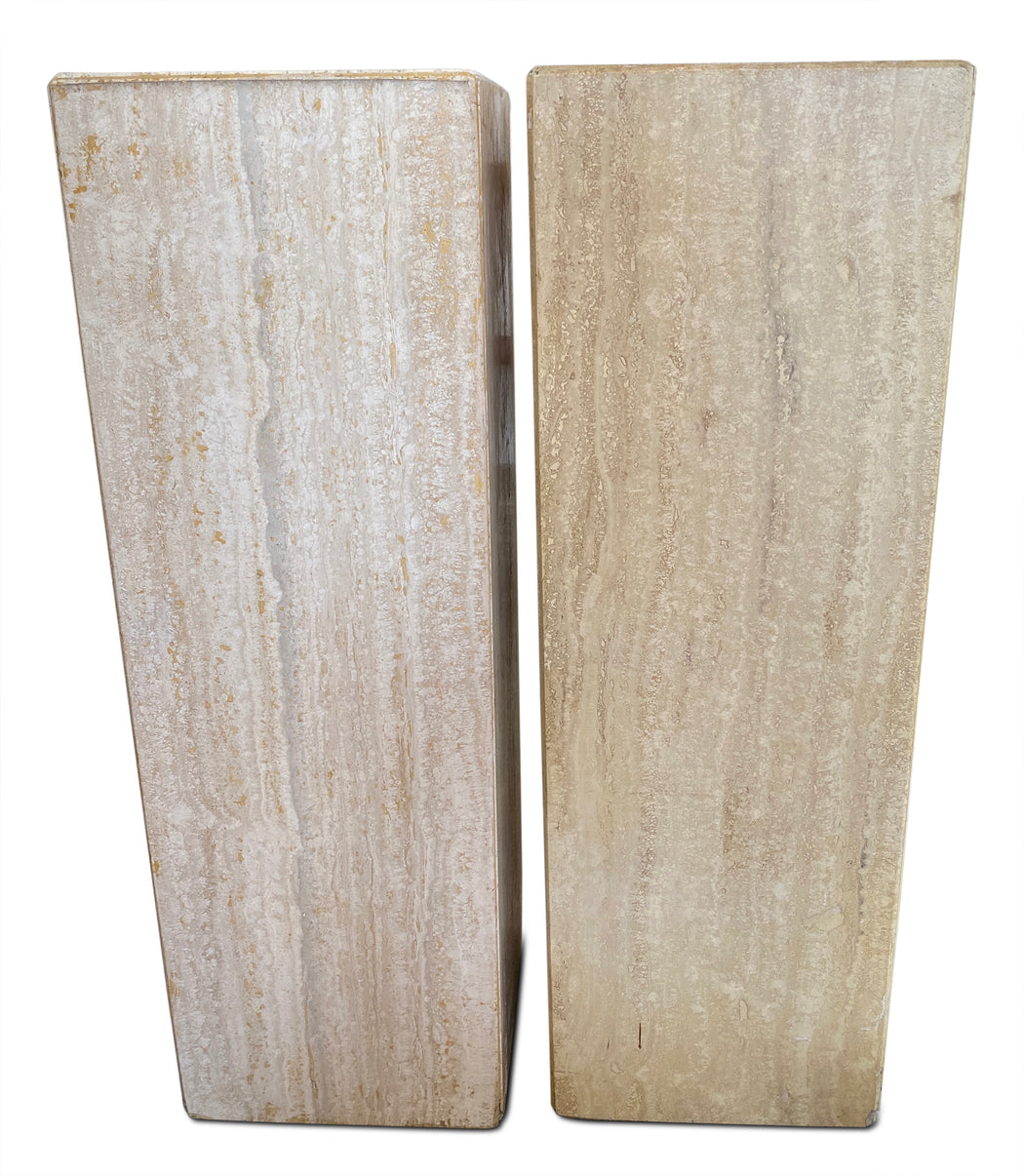 Travertine Pedestal
