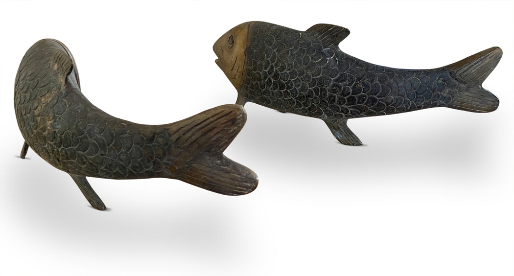 Brass Fish Figurine