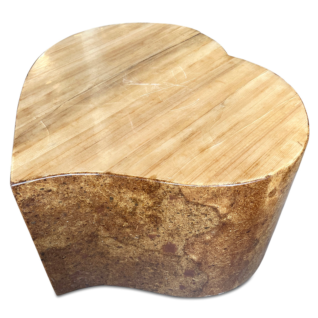 Fiberglass Heart Shaped Table