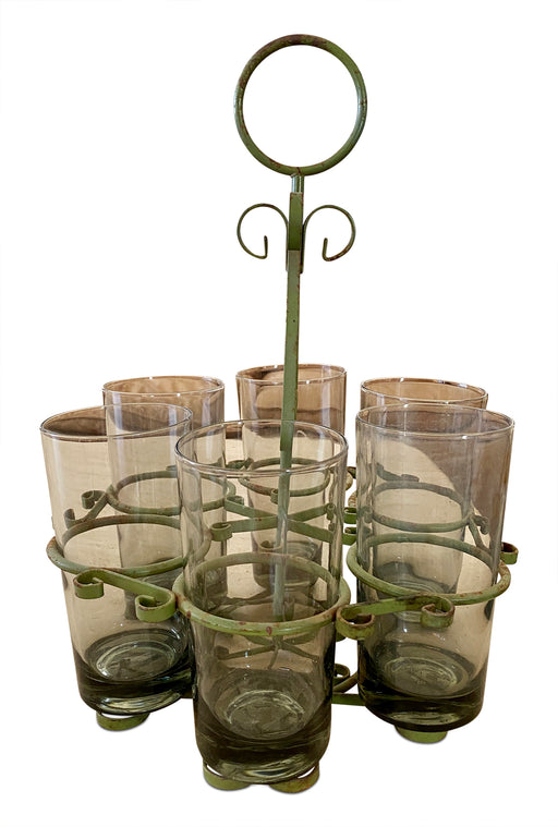 Set of 6 Highball Glasses in Carrier