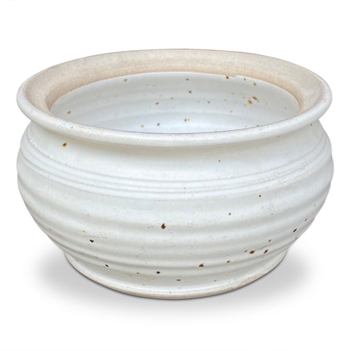 White Speckled Ceramic Bowl