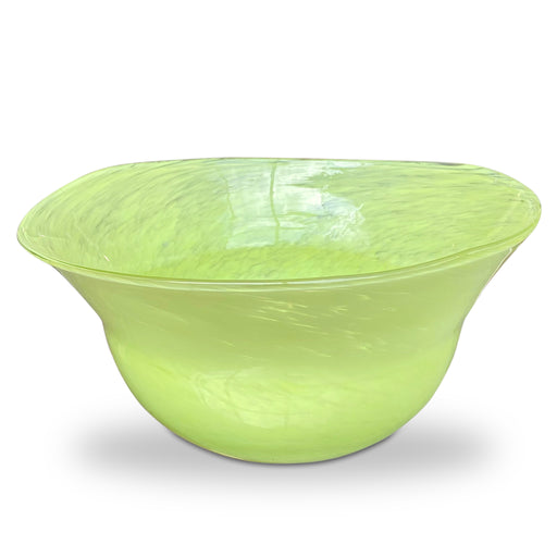 Neon Art Glass Bowl