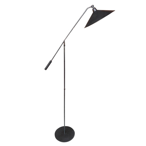 Steel MCM Floor Lamp by Underwriter Laboratories