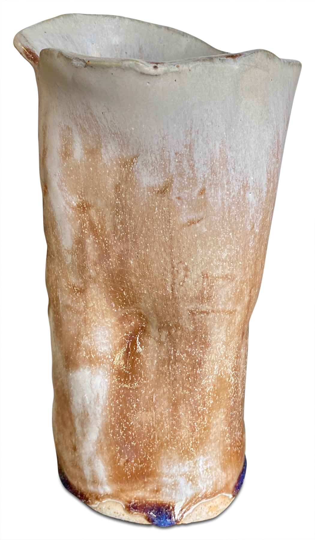 Sculptural Glazed Vase
