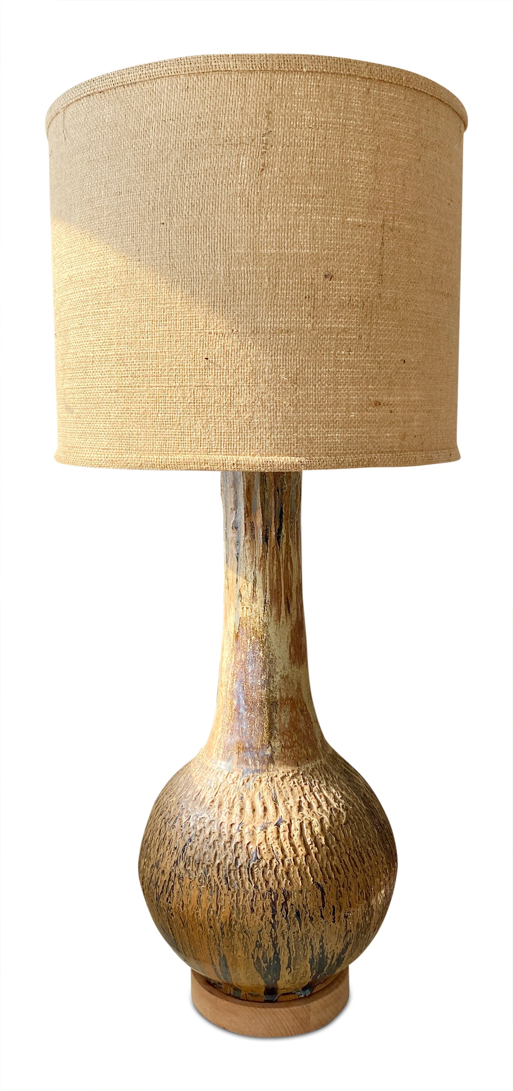 Drip Glaze Ceramic Table Lamp
