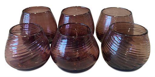 Set of 6 Handblown Glasses