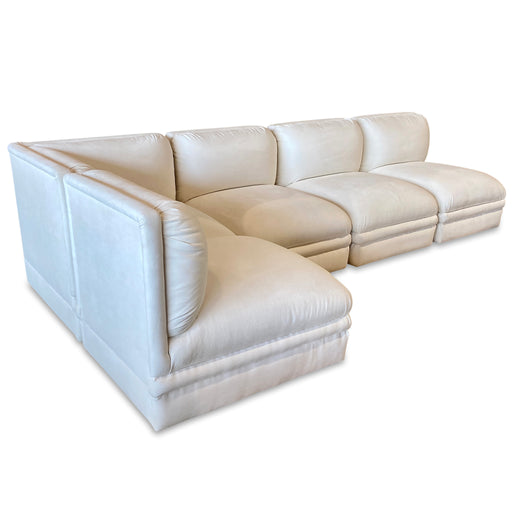 Modular White Deco Sectional